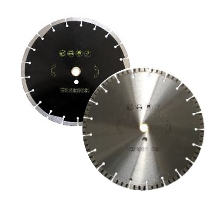 """DIAMOND BLADES    Regular and Silent Core    Style  : Turbo   Segmented   and Others    4"""" , 4 ½"""" , 5"""" to 10"""",  12"""", 14"""", 16"""", 18"""", 20"""", 24"""", 26"""", 28"""", 31"""", 36"""", 42"""" and up    Application:   Concrete, Stucco, Tile, Porcelain Tile,    Masonry, Fiberglass, Granite, Stone, Dry Wall Cutting"""