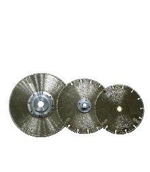 "ELECTROPLATED BLADE    5"", 8"" to 10""    Application:  Marble, Limestone, Bluestone, Sandstone, Glass, and Fiberglass"