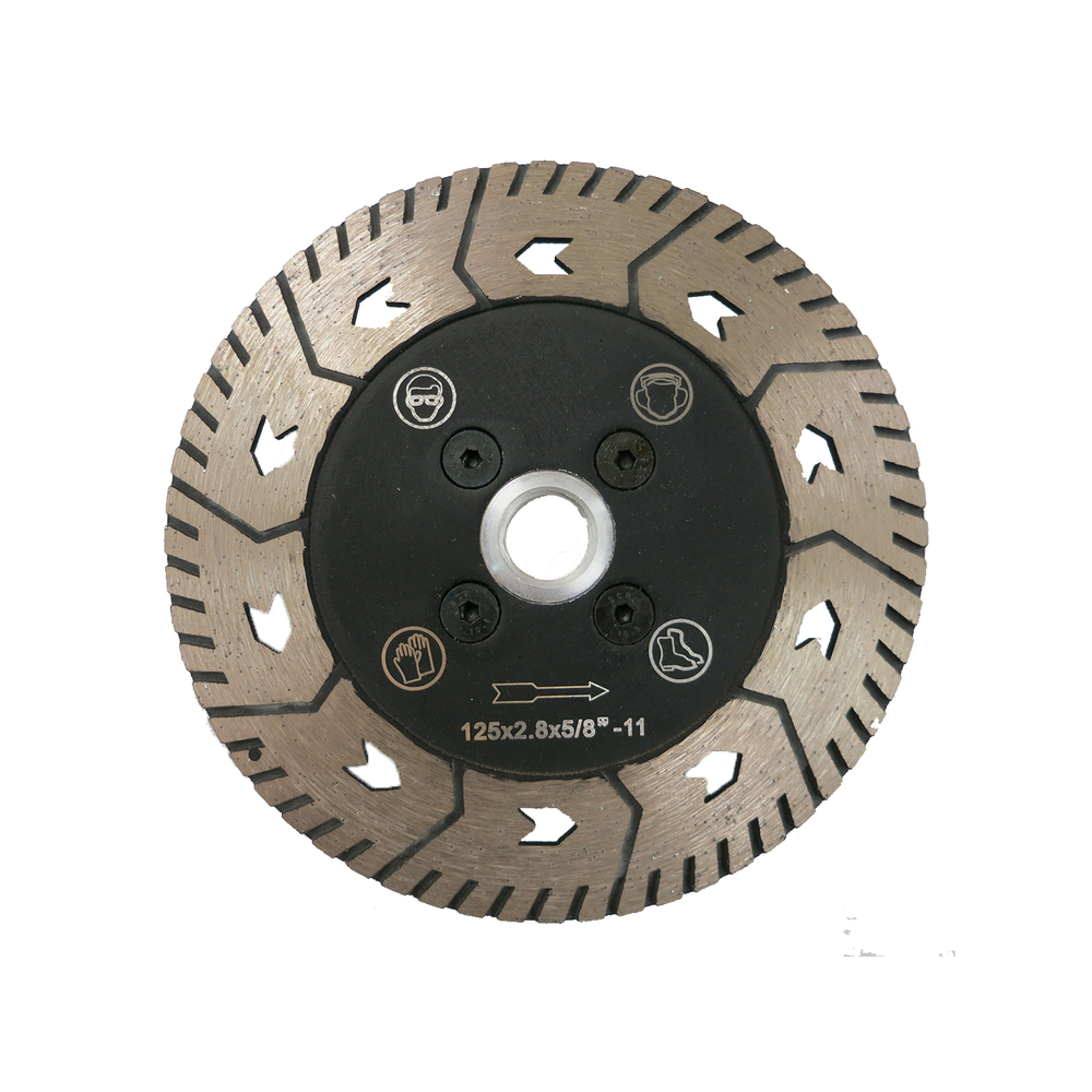 Multi-Cutter - Cutting + Grinding 2-in-1, great for granite and concrete