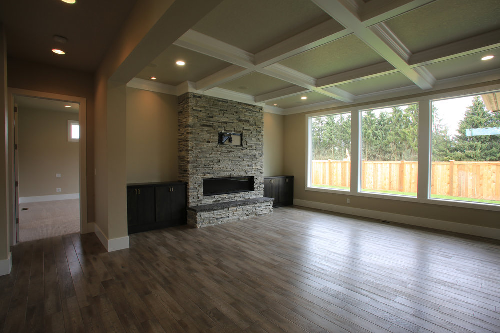 *This is not the Lincoln Plan, but it represents the quality and details of a Heitman Custom Home.