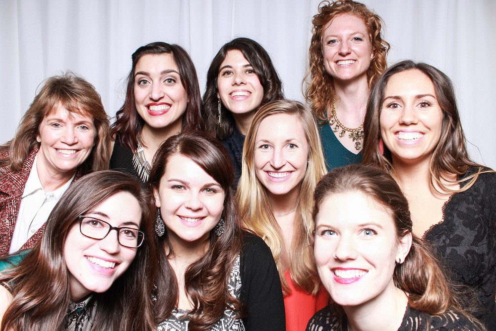 Subsplash ladies (minus 1): keeping the office beautiful since 2009.