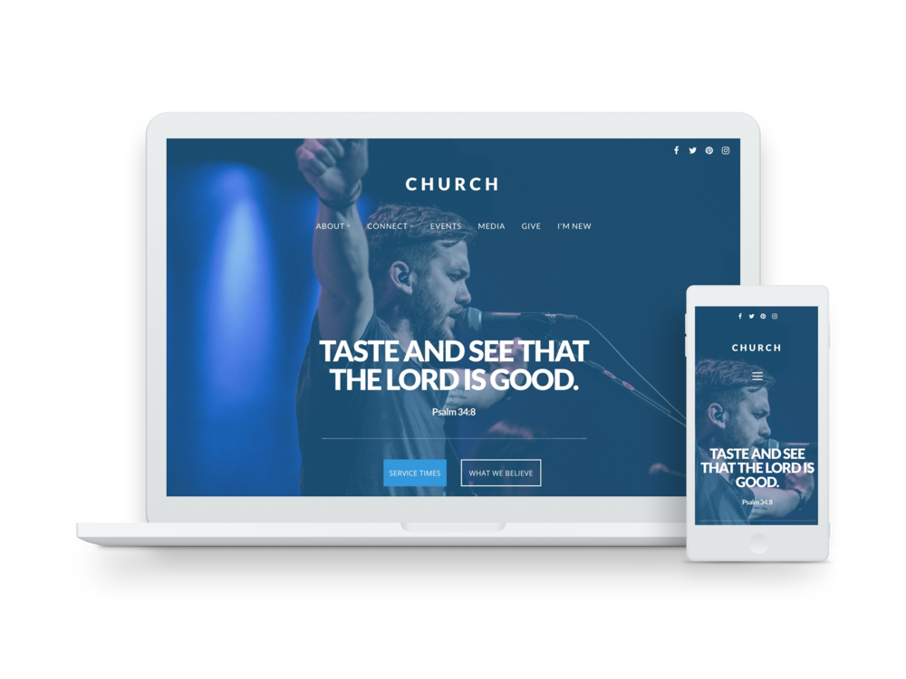 Get your church content on the web with our mobile-friendly web player.