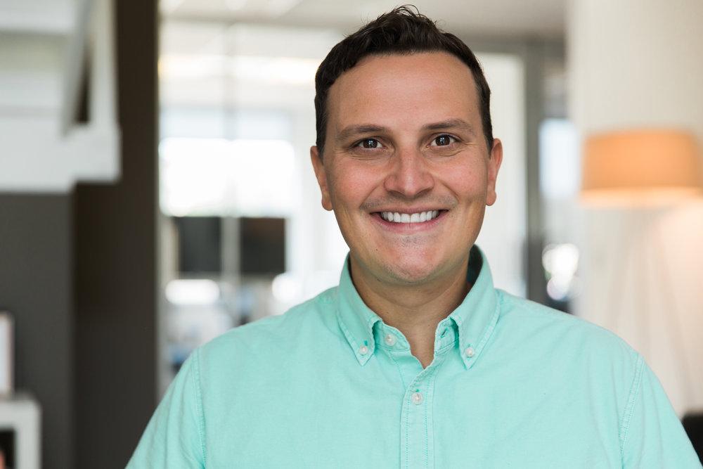 Chris Sharpe, VP of Business Development -