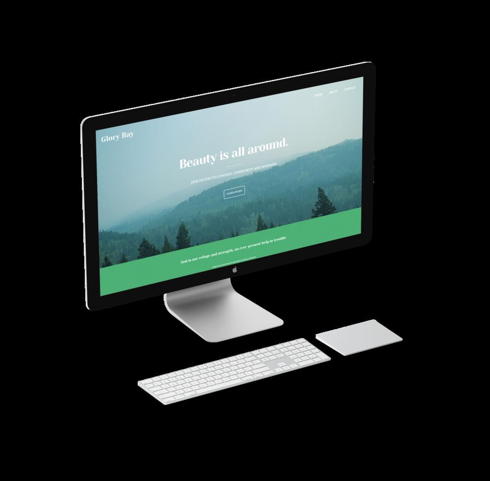 Drag and drop mobile website builder