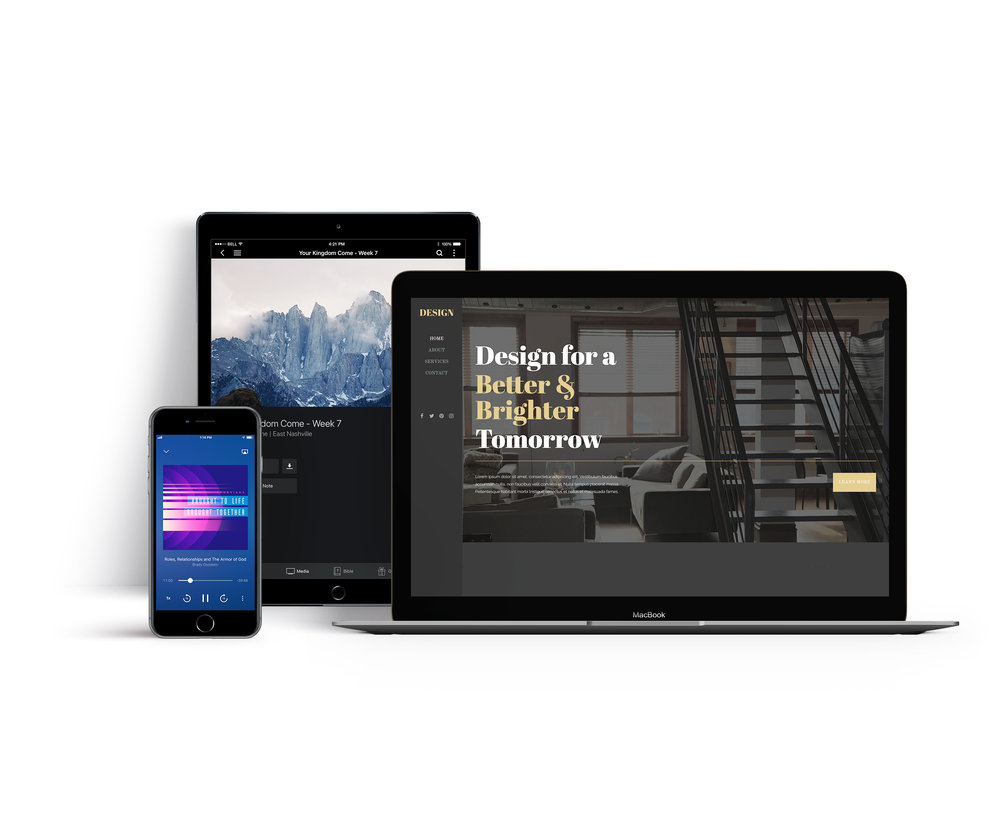 Subsplash custom mobile apps and websites