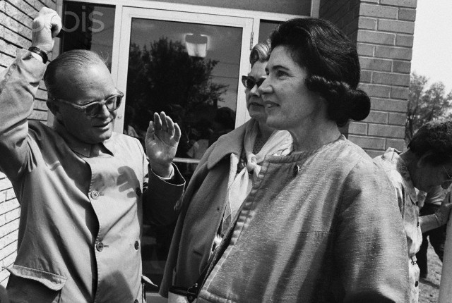 Harper Lee and Truman Capote. Image courtesy Flickr user  Peggy O'Connor .