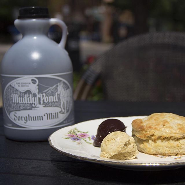 What is #sorghum and how can you eat in #DC? #Ruralicity checks out this old-school #Southern food. Link in profile. #goodeats #biscuits #molasses #Alexandria #South
