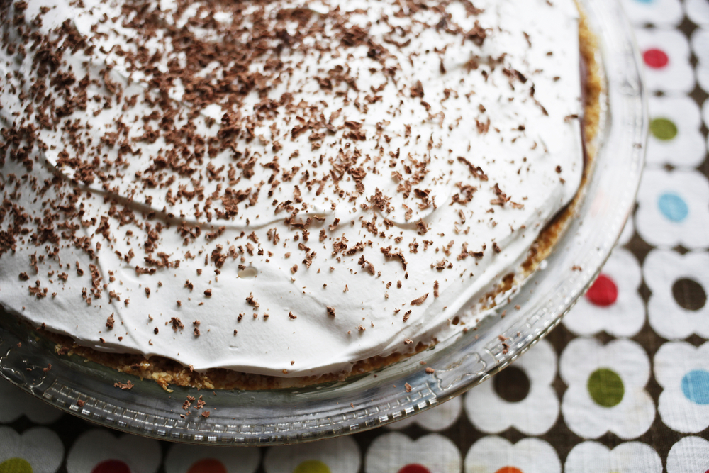 Bishop's chocolate pie | Freckle & Fair