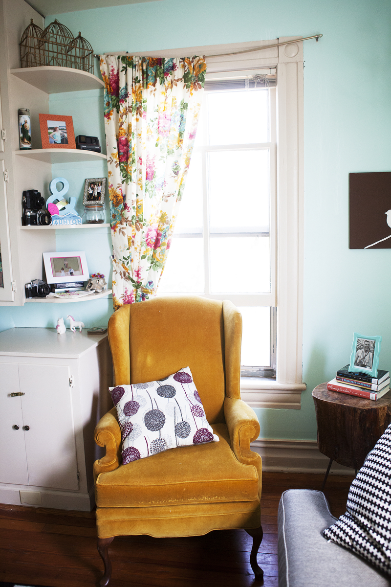 Katie's bright Victorian apartment home tour | Freckle & Fair