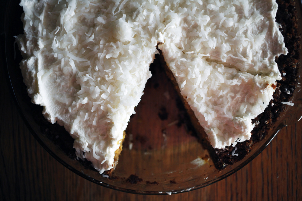 Chai spice pumpkin pie