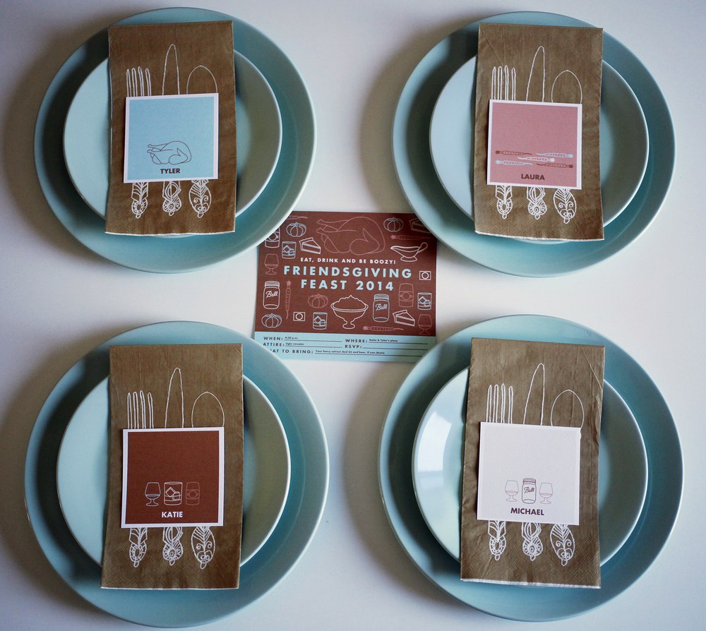 Free Friendsgiving printables | Freckle & Fair