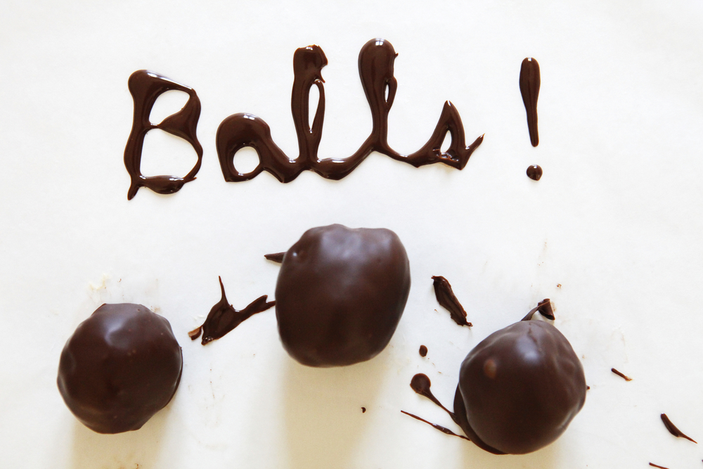 Chocolate peanut butter balls | Freckle & Fair
