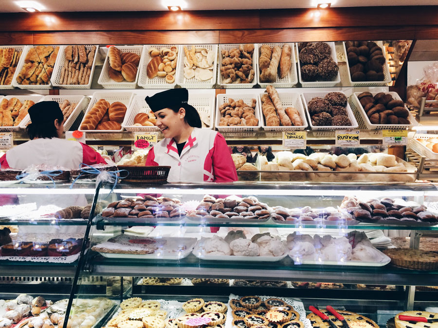 Panifico Gemo pastry shop in Vicenza | Freckle & Fair