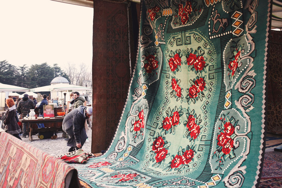 Piazzola sul Brenta antique market | Freckle & Fair