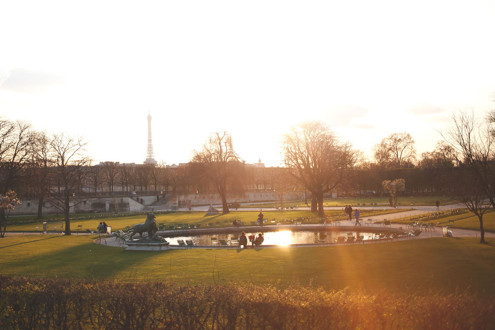 Tuileries Garden in Paris | Freckle & Fair
