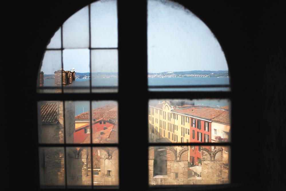 Sirmione castle, Lake Garda | Freckle & Fair