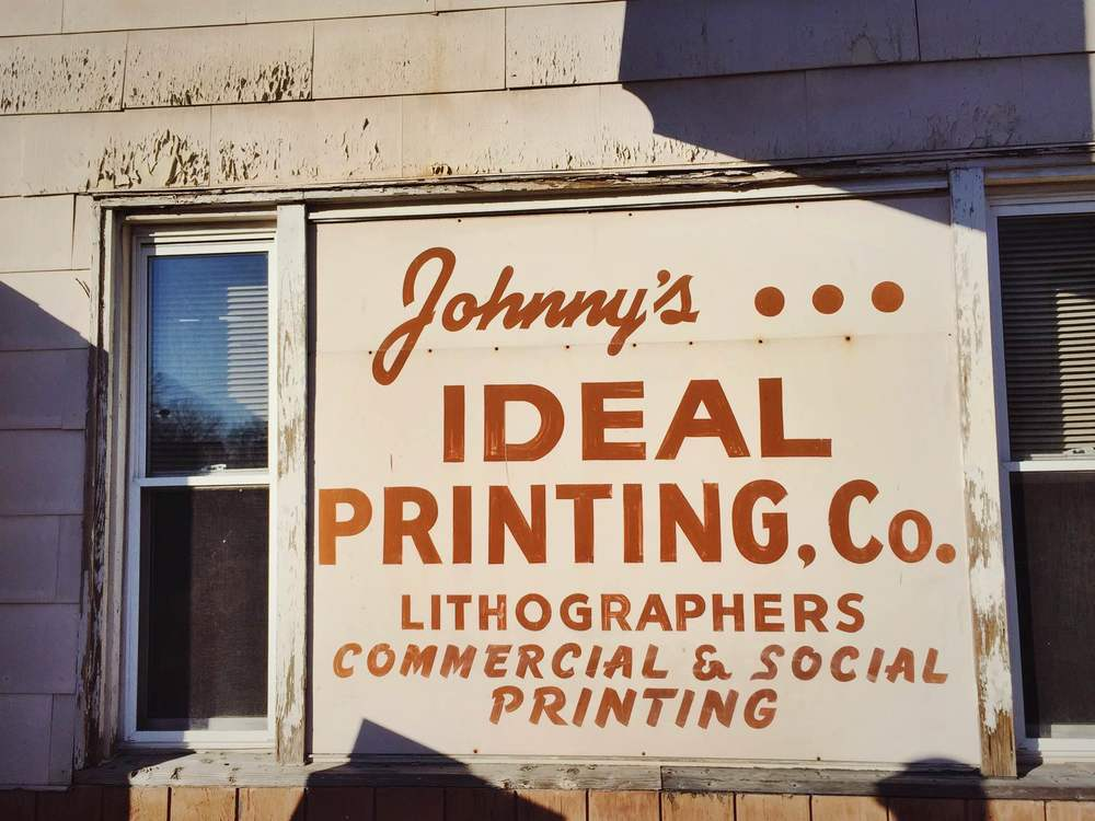Johnny's Ideal Printing Co. in Hudson, NY | Freckle & Fair