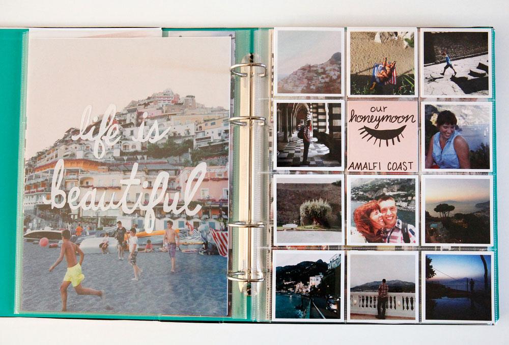 Our honeymoon on the Amalfi Coast