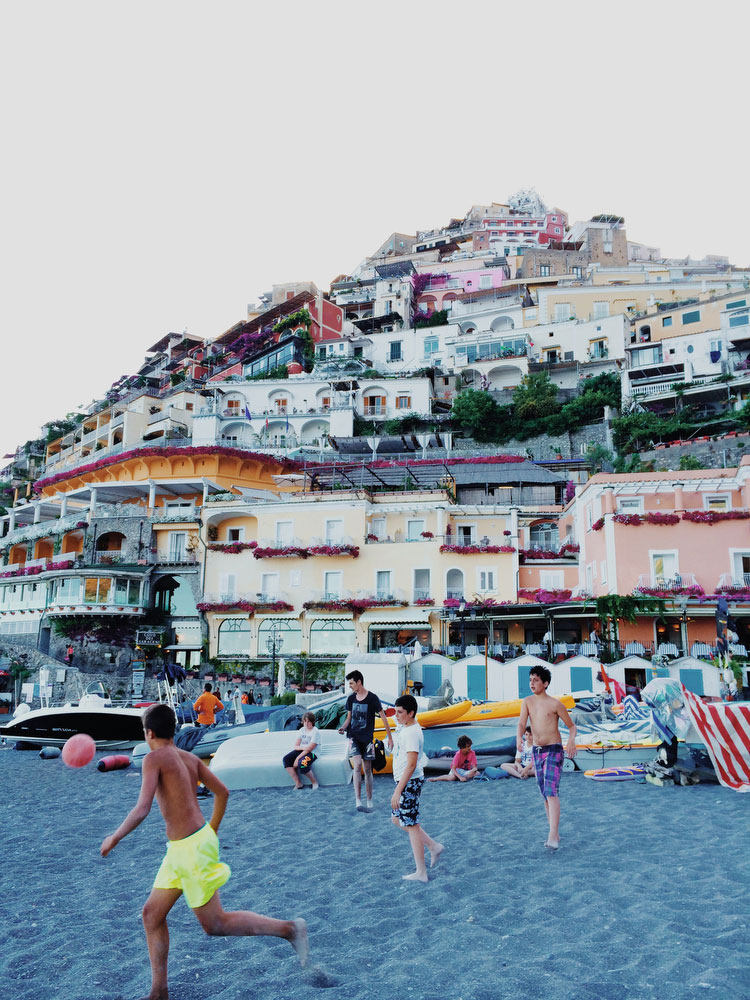 Positano, Italy on the Amalfi Coast | Freckle & Fair