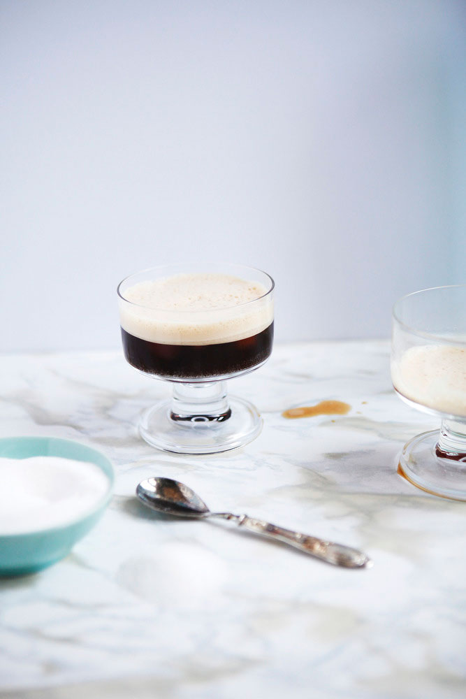 Italian shaken iced coffee: Caffe shakerato | Freckle & Fair