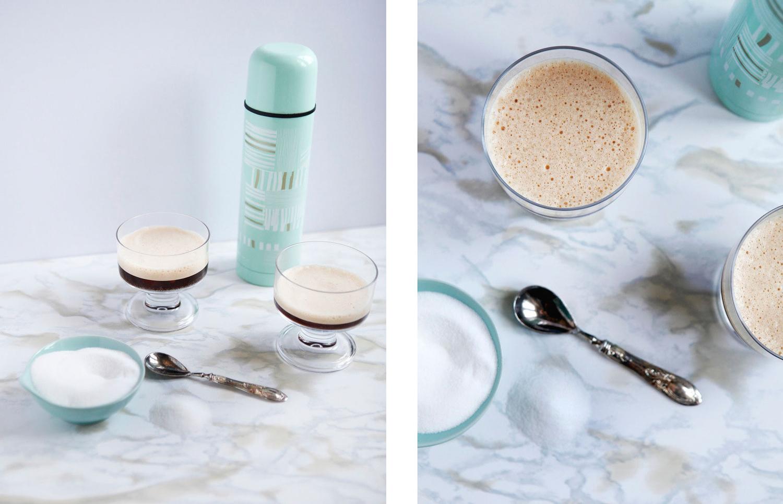 Italian shaken iced coffee: Caffè shakerato — Freckle & Fair