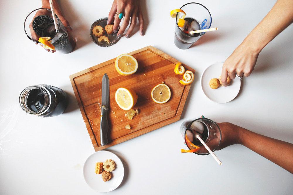 Cold brewed coffee soda | Freckle & Fair