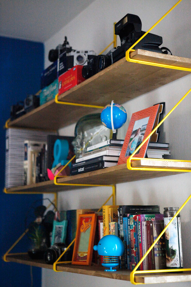 IKEA EKBY GÄLLÖ shelving hack | Freckle & Fair