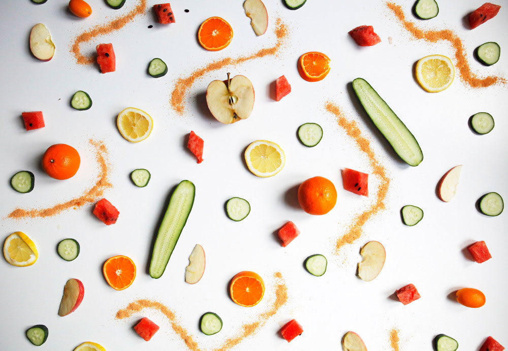 Snacking with tajin seasoning | Freckle & Fair