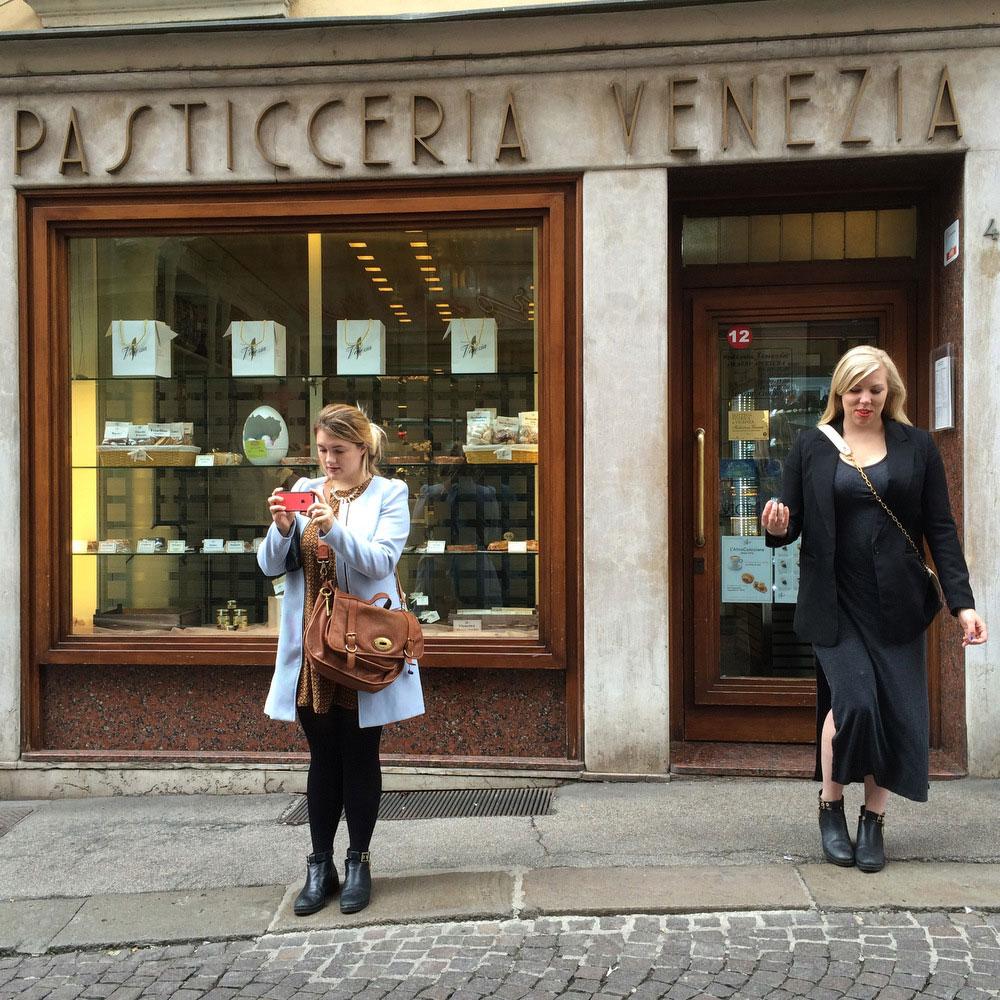 Pasticceria Venezia in downtown Vicenza