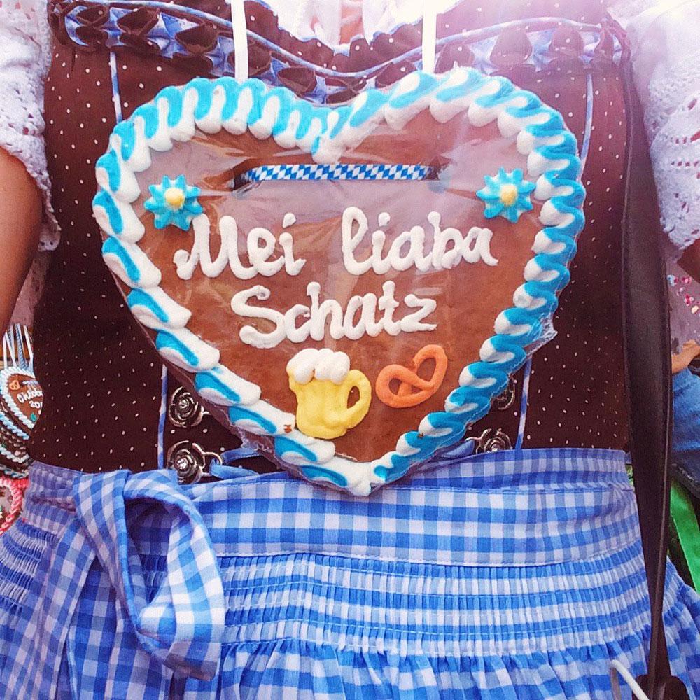 German gingerbread cookies at Oktoberfest | Freckle & Fair