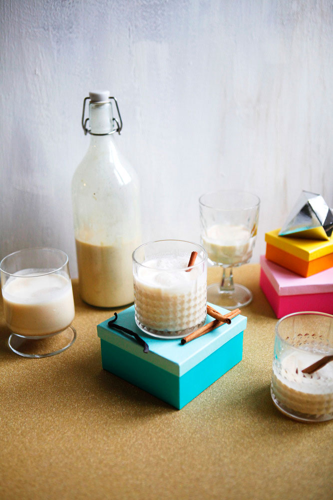 Coquito, or Puerto Rican eggnog for Christmas | freckleandfair.com