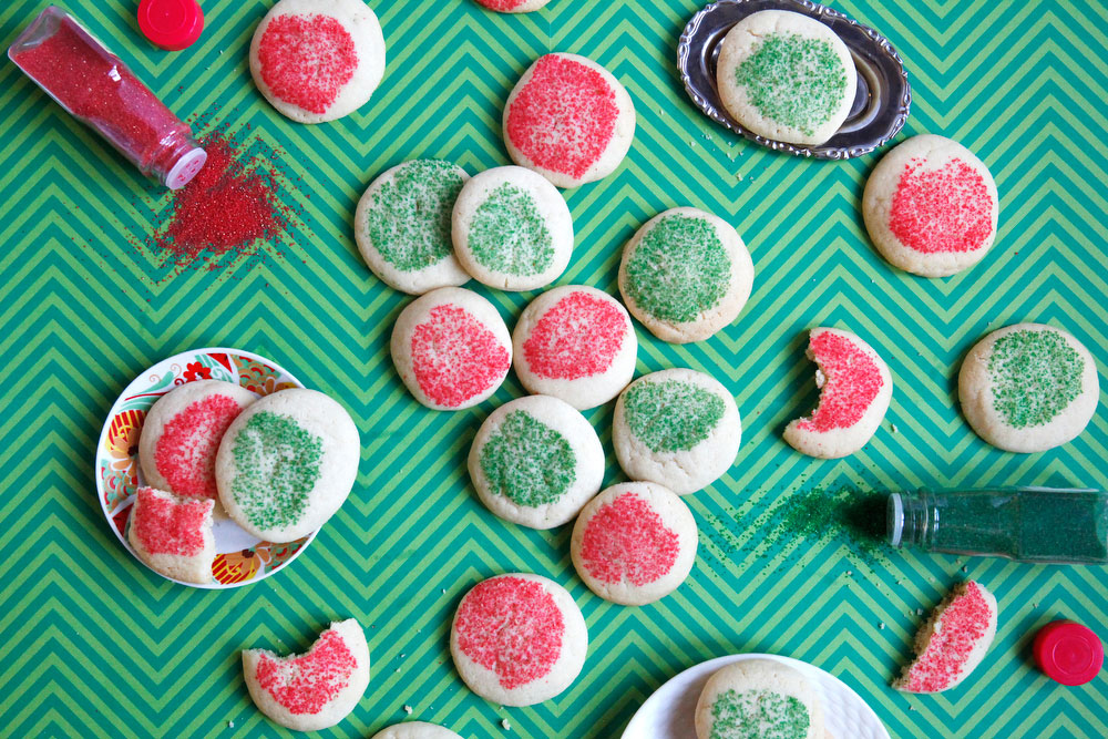 Melty sugar cookies | Freckle & Fair