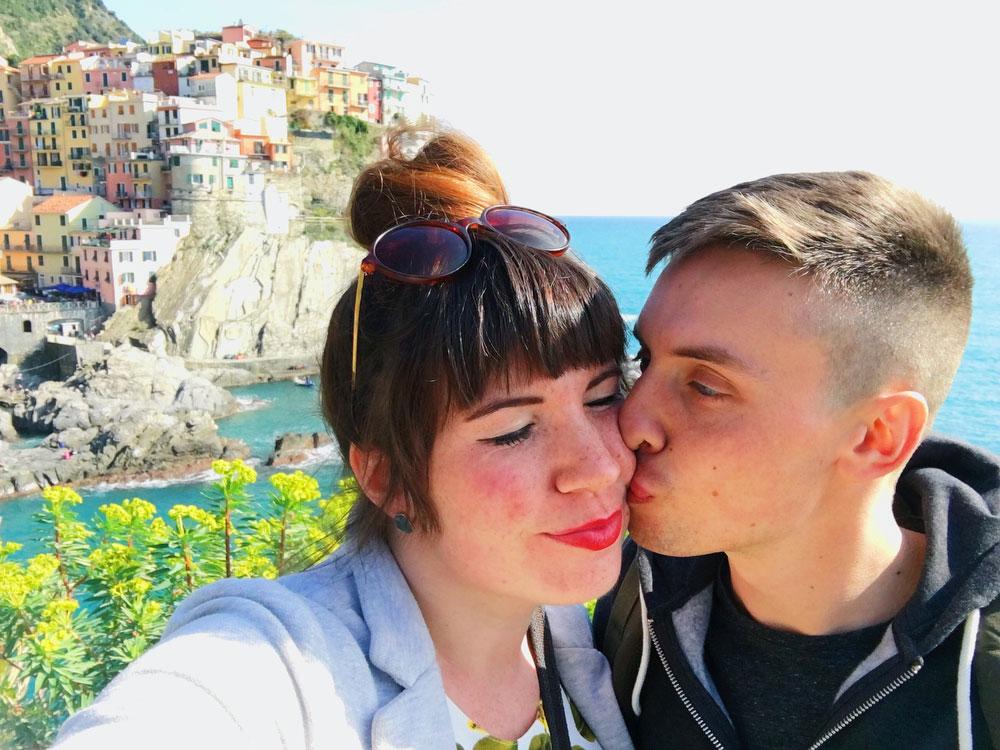 Manarola, Cinque Terre, Italy | www.freckleandfair.com