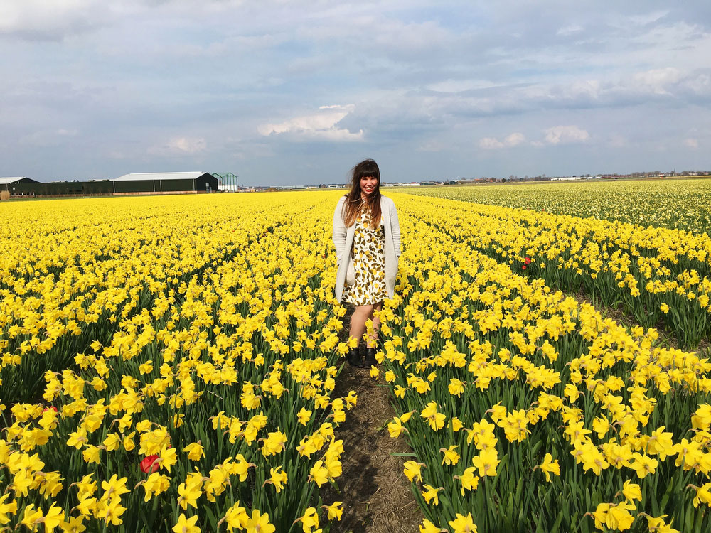 Fields of flowers in the Netherlands | freckleandfair.com