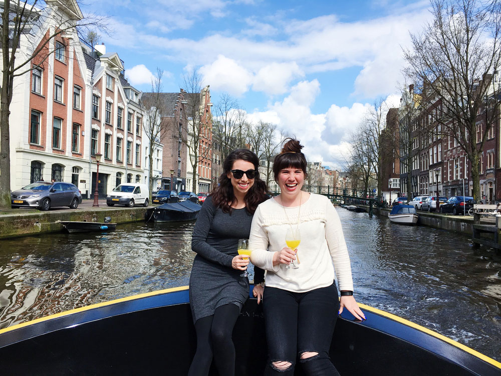 Boat tours in Amsterdam | freckleandfair.com