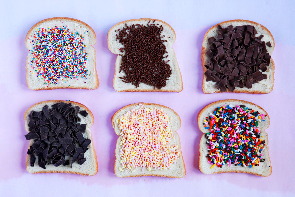 Hagelslag, or Dutch sprinkle toast | freckleandfair.com