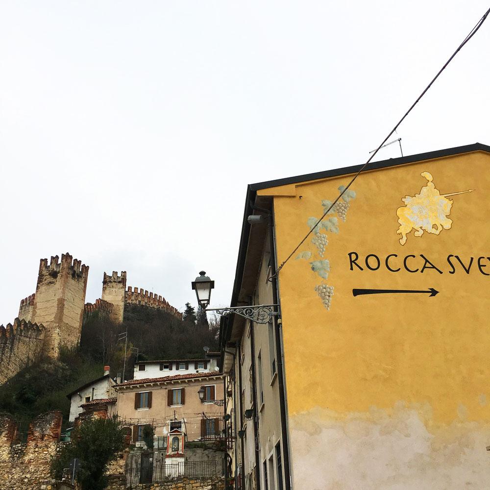 Rocco Sveva winery in Soave