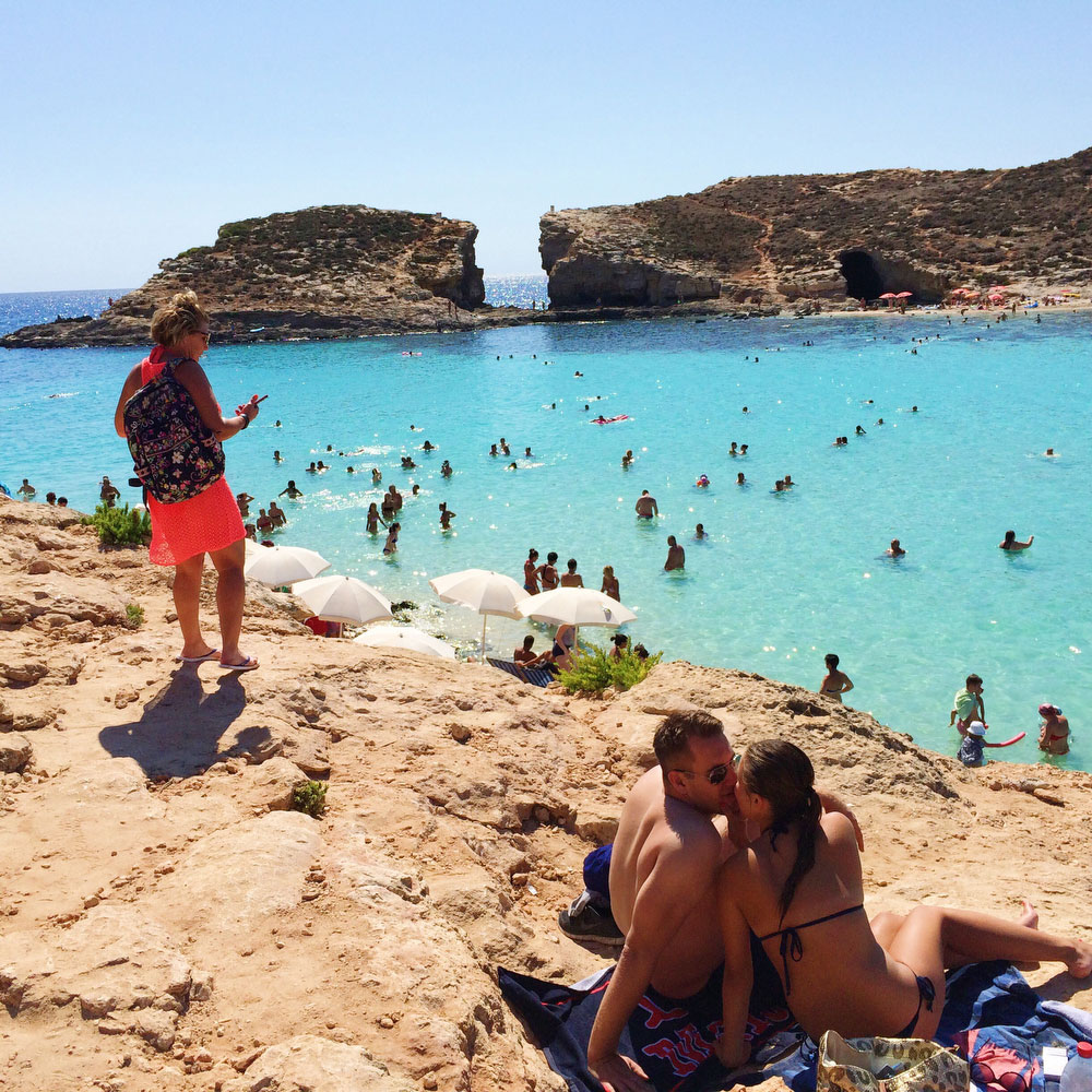 The Blue Lagoon in Malta | freckleandfair.com