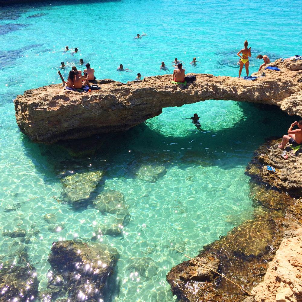 The Blue Lagoon in Malta | freckleandfair.com