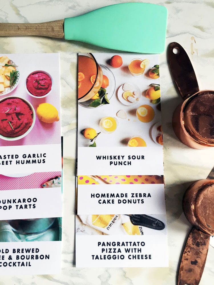 Free printable recipe cards | freckleandfair.com