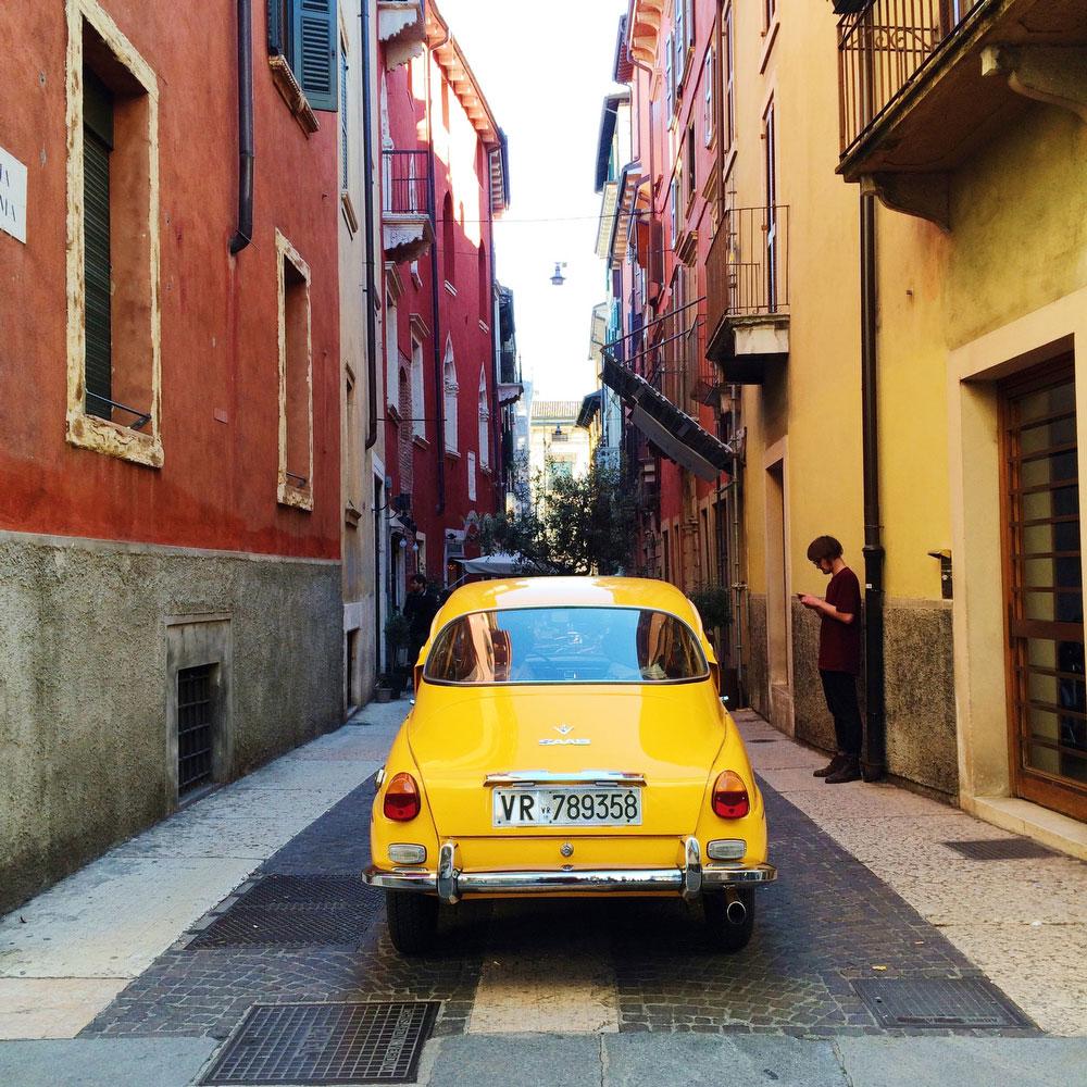 Back alleys of Verona