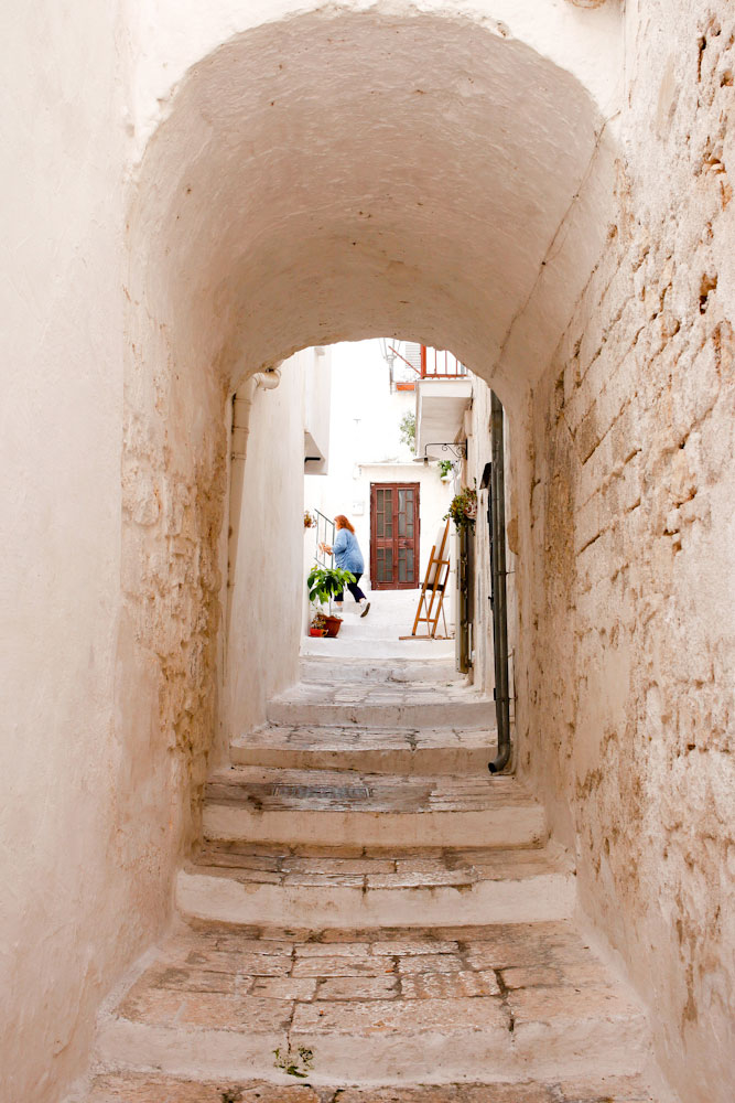 Ostuni, the white city, in Puglia, Italy | freckleandfair.com