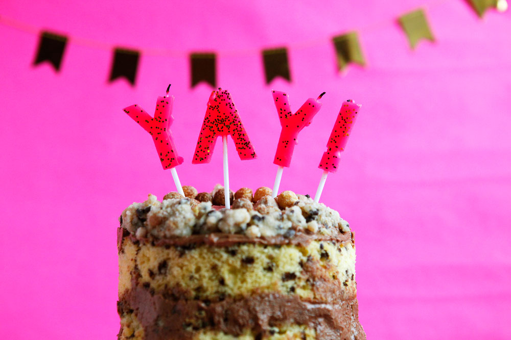 Reese's Puffs Momofuku Milk Bar birthday cake | freckleandfair.com