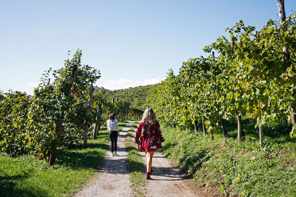 A guide to wineries and drinking along Prosecco Road in Italy | freckleandfair.com