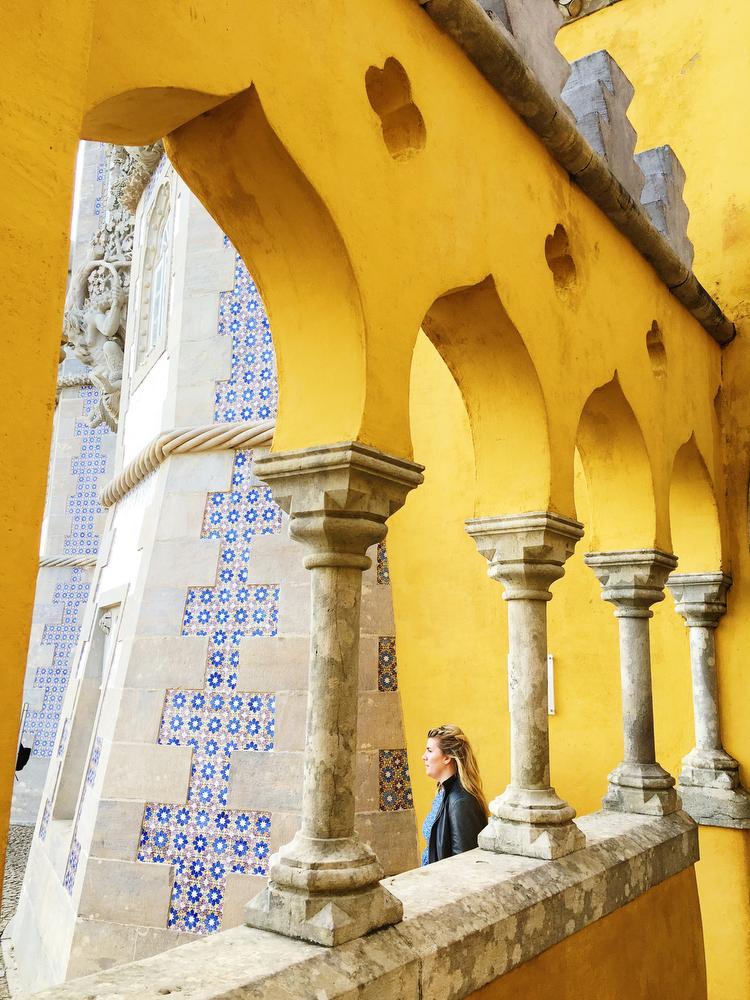 Palace of Pena, Sintra, Portugal | freckleandfair.com