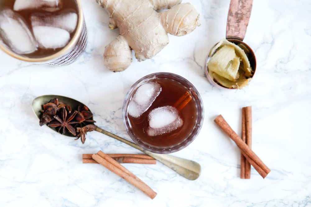 Ginger cinnamon punch