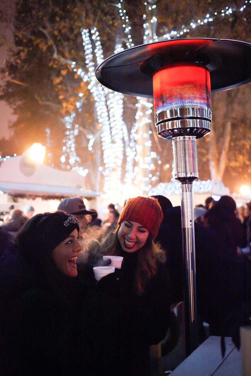 Christmas market in Zagreb, Croatia | freckleandfair.com