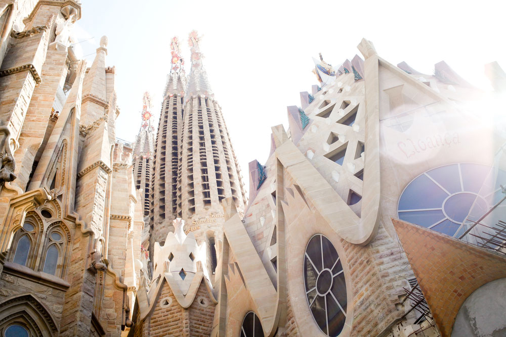 Sagrada Familia | What to do in Barcelona | freckleandfair.com