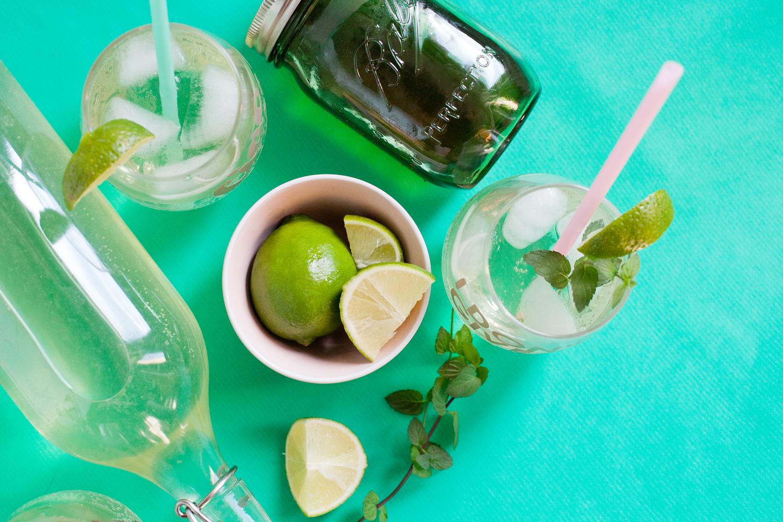 Virgin mojito soda — Freckle & Fair | Recipes, DIY tutorials, travel guides  and general awesomeness