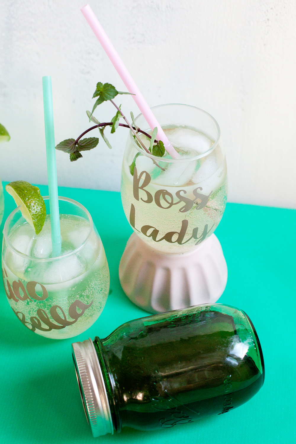 Virgin mojito soda | freckleandfair.com